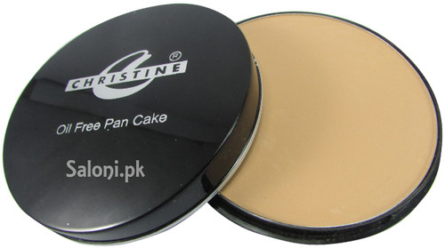 Christine Oil Free Pan Cake Ivory