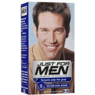 Just For Men Shampoo-In Hair Color Medium Dark Brown H-40
