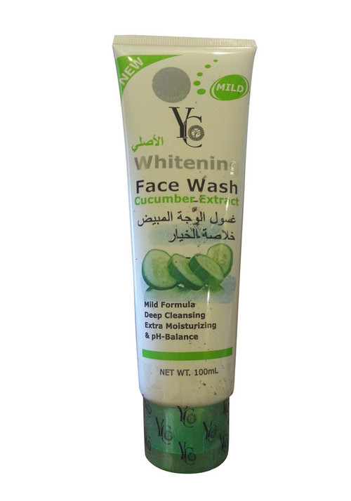 YC Whitening Face Wash Cucumber Exract