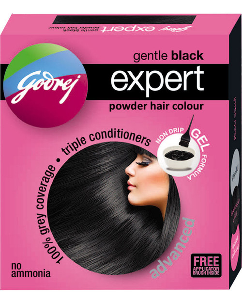 Godrej Gentle Black Expert Advanced Powder Hair Colour
