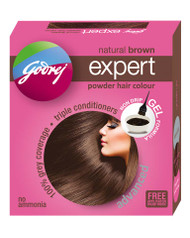Godrej Natural Brown Expert Advanced Powder Hair Colour