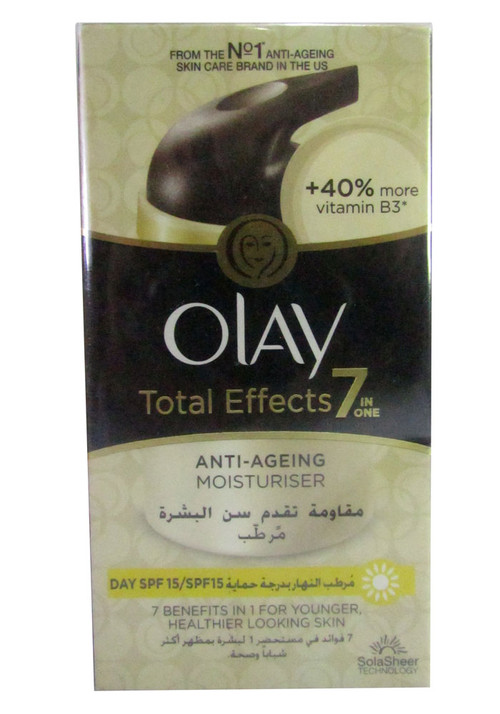 Olay Total Effects 7-In-1 Anti-Ageing Moisturiser