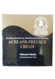 Dr.James Acne And Freckle Cream Natural Herbs Hydroquinone Free (Front)