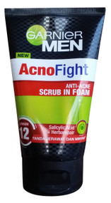 Garnier Men AcnoFight Anti-Acne Scrub in Foam (Front)