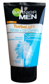 Garnier Men Turbo Light White + Oil Control Foam (Front)