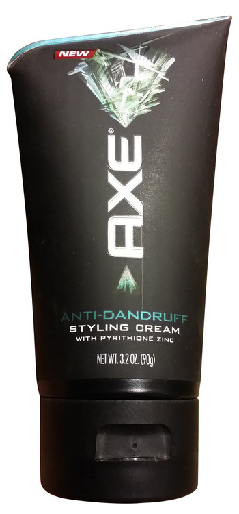 Axe Anti-Dandruff Styling Cream 3.2 OZ (Front)