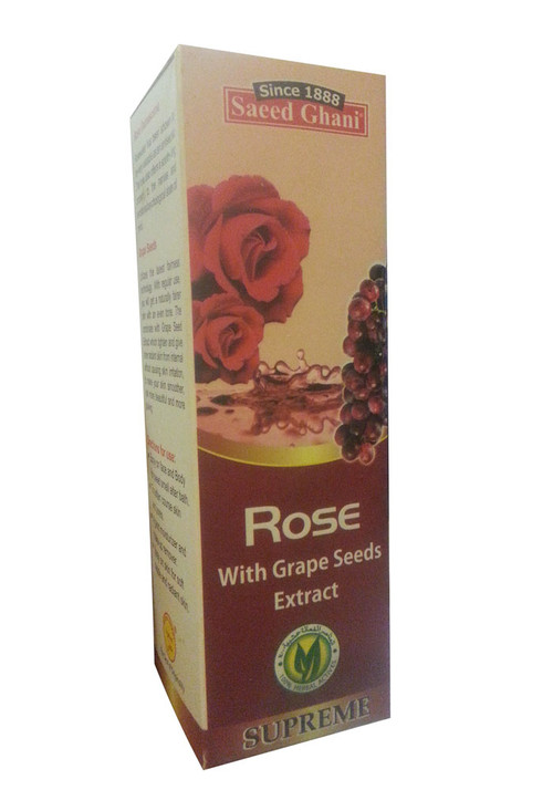 Saeed Ghani Rose With Grape Seeds Extract Spray Front