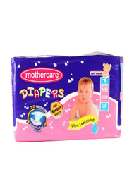 Mother Care Diapers (Newborn) 28 Pack