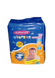 Mother Care Diapers (Small) 26 Pack