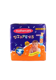 Mother Care Diapers Economy Pack (Small) 66 Pack
