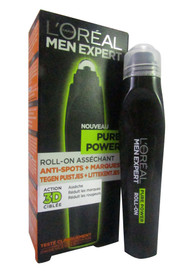 L'oreal Paris Men Expert Pure Power Targeting Roll On Anti Spot + Mark 10 ML