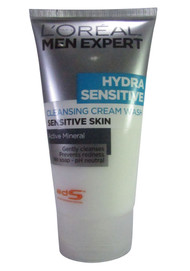 L'oreal Paris Men Expert Hydra Sensitive Cleansing Cream Wash