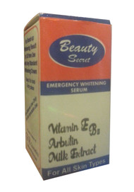 Beauty Secret Emergency Whitening Serum Front
