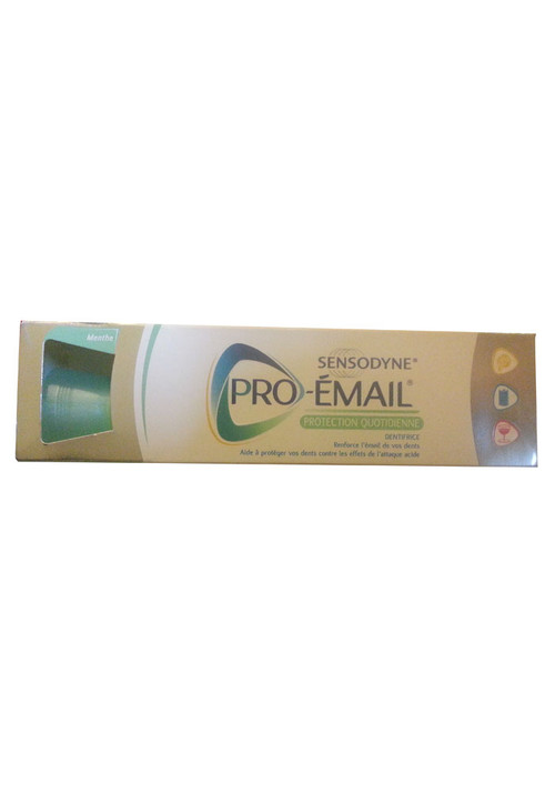 Sensodyne Pro-Email Protection Quatidienne Toothpaste (Menthe)