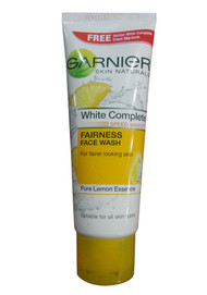 Garnier White Complete Pure Lemon Essence Fairness Face Wash