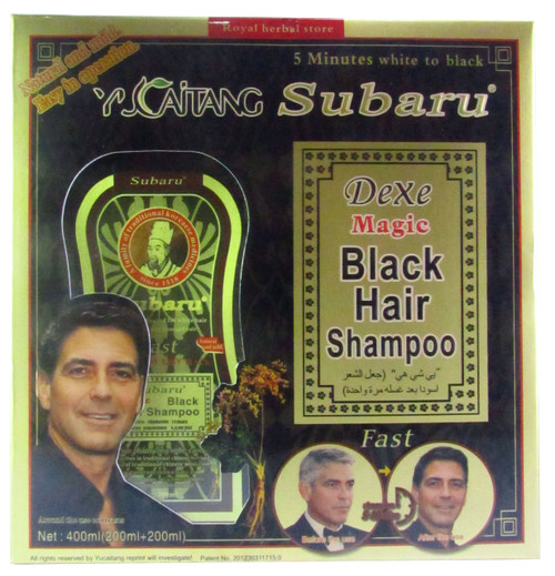 Subaru Dexe Magic Black Hair Shampoo 400 ML