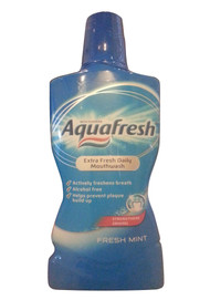 Aquafresh® Extra Fresh Daily Mouthwash Fresh Mint (Front)