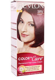 Revlon Color N Care Permanent Hair Color Cream Burgundy-3RV