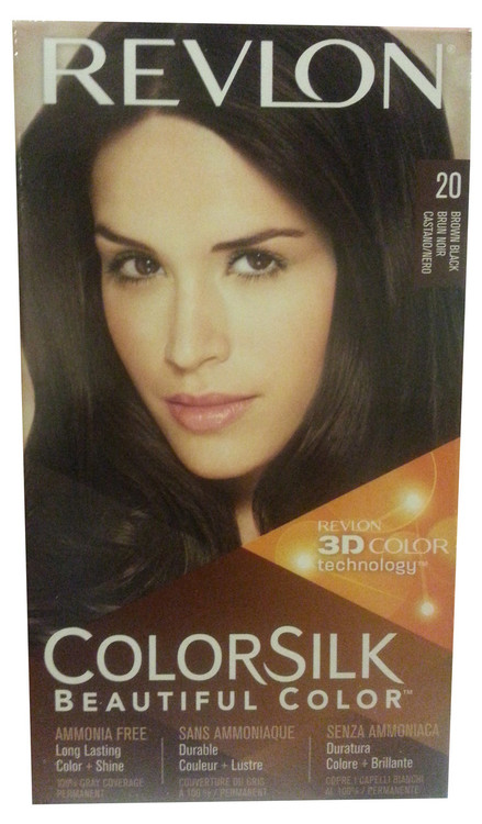 Revlon ColorSilk Beautiful Color™ Brown Black 20