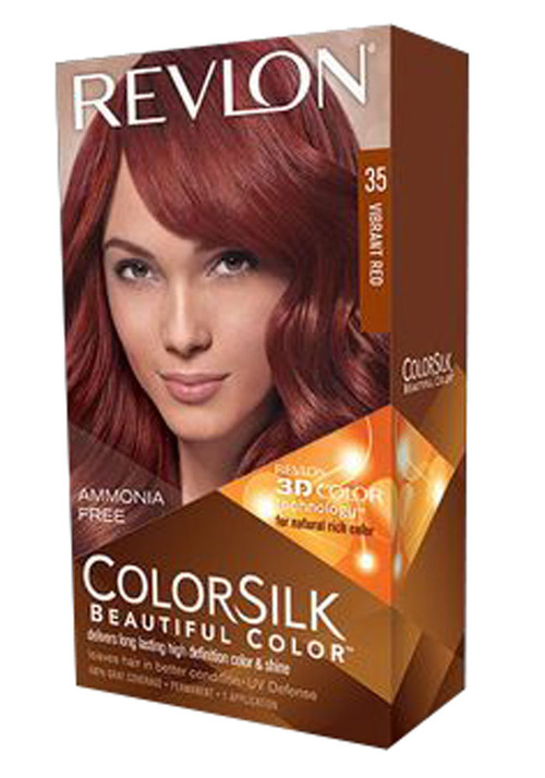 Revlon ColorSilk Beautiful Color™ Vibrant Red 35