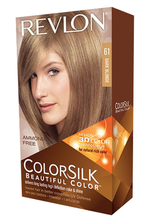 Revlon Colorsilk Beautiful Color Dark Blonde 61 For Rs 349