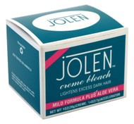 Jolen Creme Bleach Lighten Excess Dark Hair Mild Formula Plus Aloe Vera