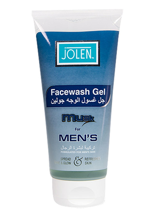 Jolen Face Wash Gel Musk For Men's
