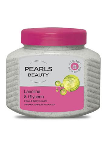 Joy Pearls Beauty Glycerin & Lanolin Moisturizer Cream