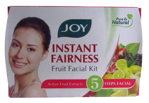 Joy Instant Fairness Fruit Facial Kit 28 Grams
