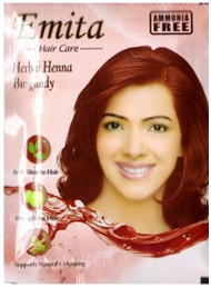 Emita Hair Care Herbal Henna Burgandy