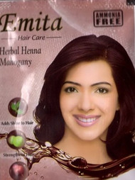 Emita Hair Care Herbal Henna Mahogany