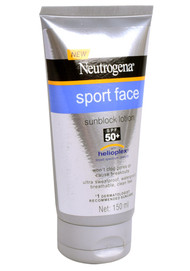 Neutrogena Sport Face Sunblock Lotion SPF 50+