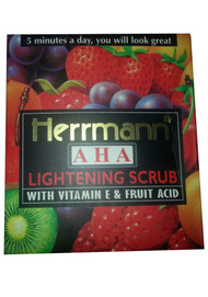 Herrmann AHA Lightening Scrub With Vitamin E & Fruit Acid