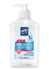 Lucky Super Soft Vitamin E Instant Hand Sanitizer Advanced Formula