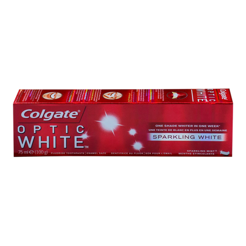 Colgate Optic White Sparkling Mint Toothpaste 75 ML 100 Grams