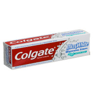 Colgate Max White with Whitening Strips Toothpaste