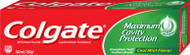 Colgate Maximum Cavity Protection Cool Mint Flavor Toothpaste