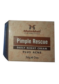 Malamah Cosmetics Pimple Rescue Daily Night Cream Plus Acne