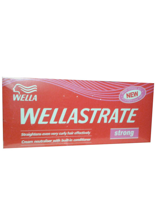 Wella Hair Straightener Rebonding Cream