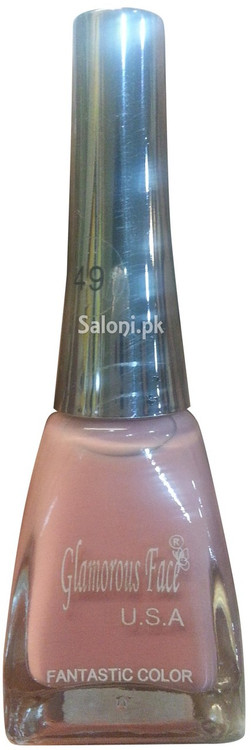 Glamorous Face Fantastic Color Nail Polish 49 (Front)