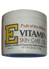 Fruit of the Wokali Vitamin E Skin Care Cream