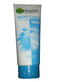 Garnier Duo Clean Vitamin CG and White Clay Whitening + Oil Control Duo Foam
