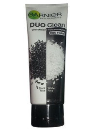 Garnier Duo Clean Black Rice and White Rice Whitening + Pore Minimizing Duo Foam