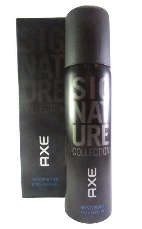 Axe Signature Collection Mysterious Body Perfume For Men 122 ML(Front)