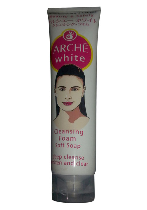Arche White Cleansing Foam Soft Soap