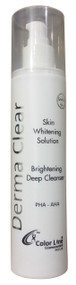 Derma Clear Skin Whitening Solution Brightening Deep Cleanser buy online in pakistan