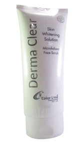 Derma Clear Skin Whitening Solution Brightening Microfoliant Face Scrub buy online in pakistan