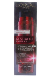 L'Oreal Paris Revitalift Laser X3 Integeral Care Day (50 ML) Anti Wrinkle Anti Dark Spot