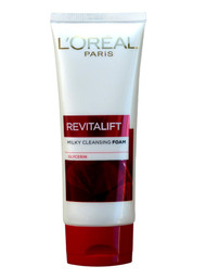 { Clearance } L'oreal Paris Revitalift Milky Cleansing Foam LHA + Glycerin 100 ML