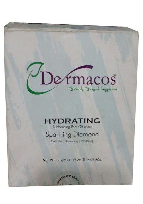 Dermacos Hydrating Rubbing Peel Off Mask Sparkling Diomand Front